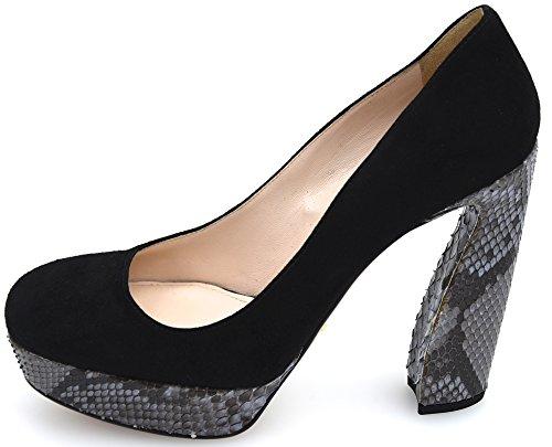 Calzado Decolte Mujer Prada Mujer Negro / Pervinca Art. 1ip097 Negro / Pervinca - Negro / Periwinkle