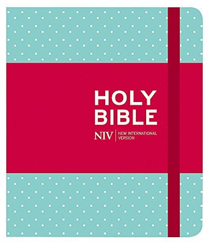 Holy Bible: New International Version (Journalling Mint Polka Dot Cloth Bible)
