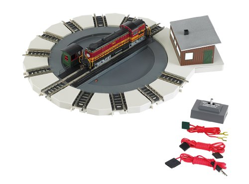 Bachmann Industries Motorized Turntable Train Car, N Scale