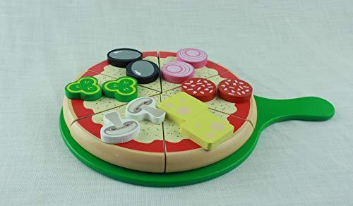 Pizza-Set zum schneiden, Kaufladenzubehör