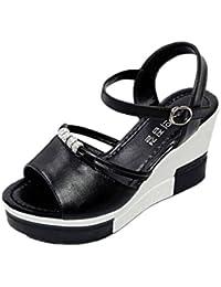 Sandalias Mujer Plataforma, Culater Zapatos de Verano Open Toe