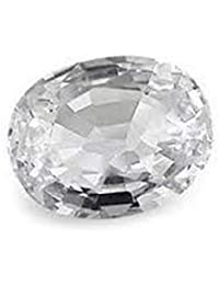 TheGalaxy 5.75 Carat Awesome Quality White Sapphire By Lab Certifed
