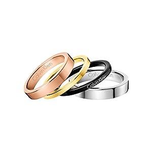 Calvin Klein Damen-Damenring Edelstahl 32005813