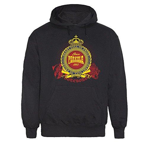 "Perkele ""Forever"" Kapu/Hooded Schwarz"