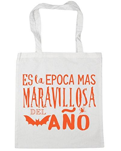 men Strandtasche, weiß - weiß - Größe: Talla única (Disfraces De Halloween Miedo)