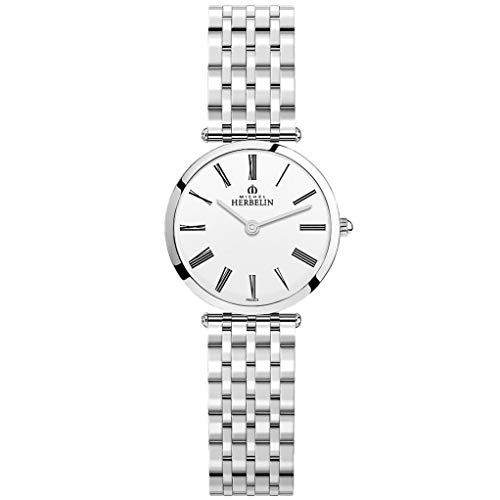 Michel Herbelin Epsilon Femme 28mm Saphire Quartz Montre 17116/b01n