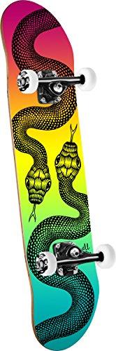 Powell Peralta Schlangen Colby verblasst komplett Skateboard, Blau -