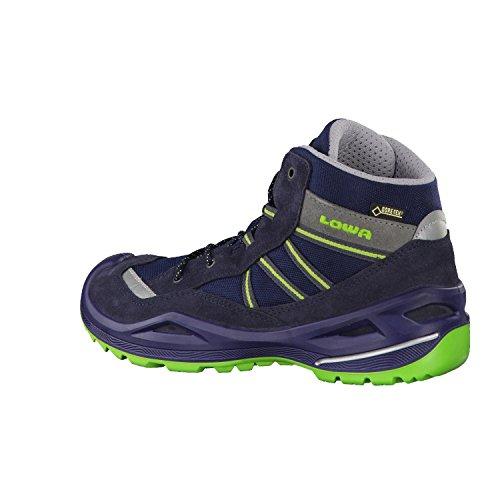 Lowa Unisex-Kinder Simon Ii Gtx Qc Trekking-& Wanderstiefel Blau