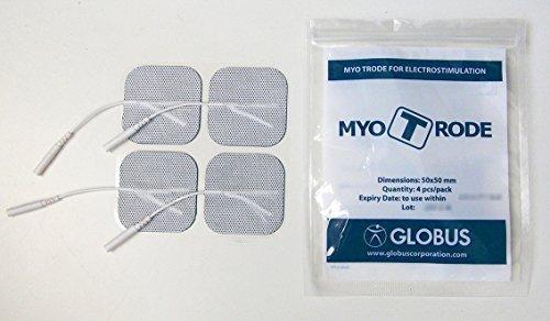 Globus elettrodi Myotrode premium quadrati