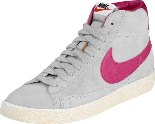 Nike Sneaker Blazer Mid Prm Suede Grigio