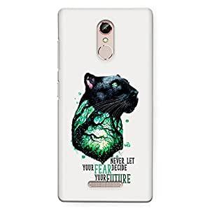 CrazyInk Premium 3D Back Cover for Gionee S6s - Fear Future