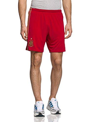adidas Herren Shorts Heim Spanien Victory Red/Light Football Gold/Craft, XL