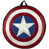 Marvel Capitán América escudo redondo mochila