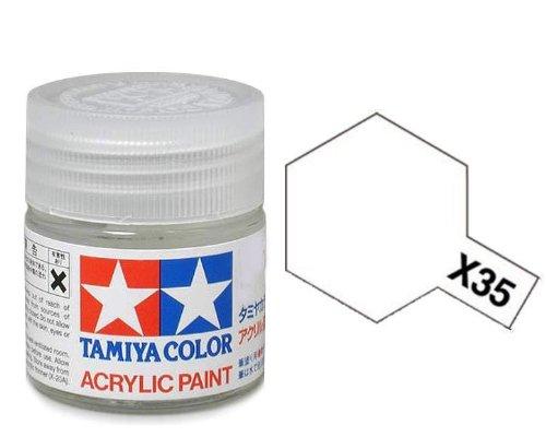 Gloss Semi Gloss Paint (TAMIYA Acrylic Paint 10ml - X-35 Semi Gloss Clear - Model Kit Paint Humbrol)