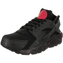 online retailer 46db7 fd94b Nike NIKEAO3153-001 Air Huarache Run Nero Rosso, da Uomo Ao3153-001