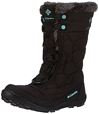 Columbia Minx Mid II Omni-Heat, Chaussures Multisport Outdoor mixte enfant, Noir (051), 39 EU (UK child 6 Enfant UK)