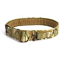 OUTRY CQB Cinturón Táctico Ajustable de Caza de Militar (Multicam(CP))