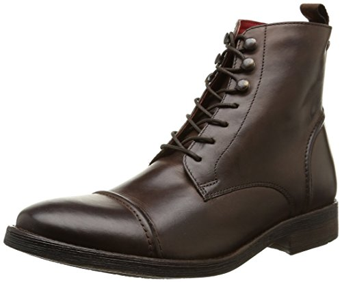 Base London - Clapham, Stivale da uomo, marrone (burnished cocoa), 45