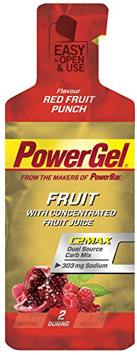 Gel Energético Power Gel PowerBar 12 Geles x 41g Frutos Silvestres