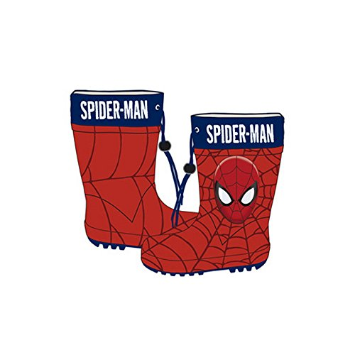 Spiderman Gummistiefel - Disney Rainboots SM9857 Gr. 24