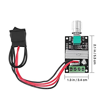 UEETEK-1203BB-6V-12V-24V-3A-80W-DC-Motor-Drehzahlregler-PWM-Einstellbarer-Reversible-Motor-Driver-Switch