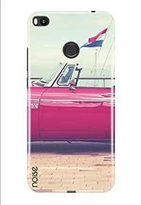 Noise Mi Max 2 Printed Cover For Xiaomi Mi Max 2 Case/ Automobiles / Vintage flag car Design-(TP-229)