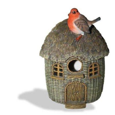Bird Care Wicker Robin Birdhouse