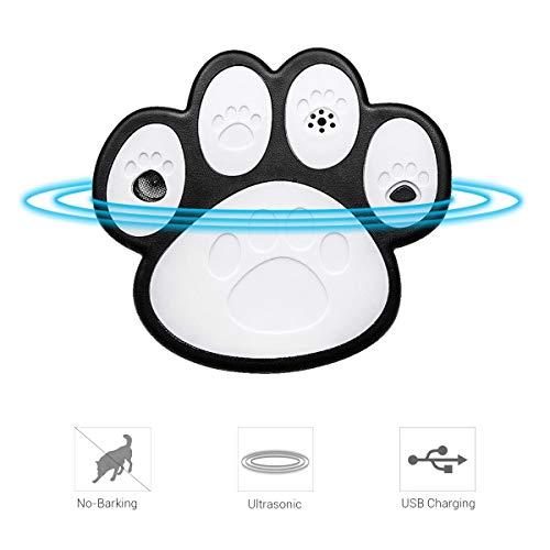 EisEyen Handheld Ultraschall Hunde Bark Control Hundekralle Form Hund Stopper Dog Trainer - Halsband Dog Trainer