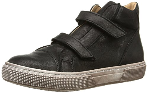 Pèpè 741 Vlc, Jungen Hohe Sneakers Schwarz (canyon Nero Full)