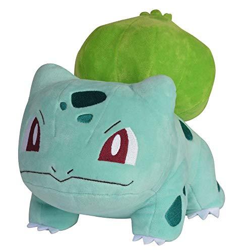 Auswahl Pokemon Plüsch-Figuren | 20 cm Plüsch-Tier | Stofftier | Kuscheltier, Plüsch:Bisasam