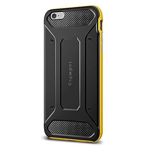Coque iPhone 6s Plus, Spigen [Neo Hybrid Carbon] Carbon Fiber [Reventon Yellow] Slim Fit + Reinforced bumper protection Pour iPhone 6 Plus (2014) / 6s Plus (2015) - Reventon Yellow (SGP11667)