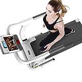 Laufband stummschalten elektrische klappbare Haushaltsmodelle gehende Maschine Mini-Indoor-Fitnessübungsmaschine Tretmühle