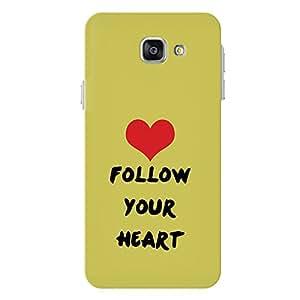 PosterHook Follow Your Heart Samsung A7 Designer Case