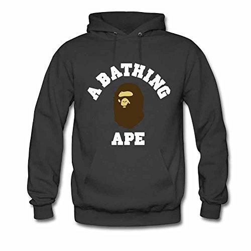 Womens Hooded Sweatshirt A Bathing Ape BAPE Cotton Hoodie 3XL