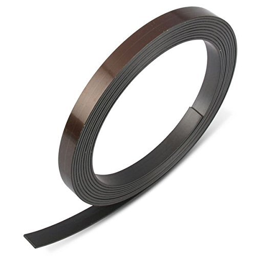 magnets4you Magnetband einseitig selbstklebend, 10,0 x 1,2 mm