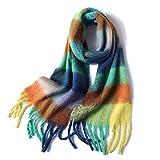 Neue Marke Dicke Frauen Winter Schal Warme Kaschmirschals Pashmina Wraps Foulard Bandana Schals Hijab Poncho Foulard Femme