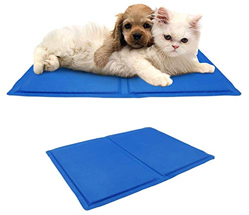 St@llion - Alfombrilla de Gel de refrigeración para Mascotas, Perro, Gato, Alivio del Calor, no tóxica