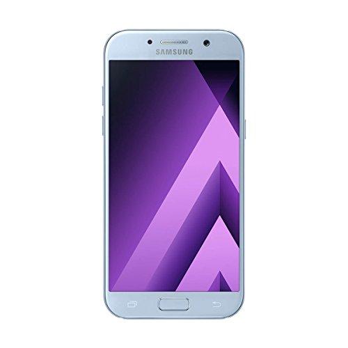 Samsung Galaxy A5 (2017) - Smartphone Libre DE 5.2' (Android 6.0, Pantalla Super AMOLED táctil capacitiva, cámara Trasera 16 MP y Frontal 16 MP, 32 GB) [Versión española] Azul