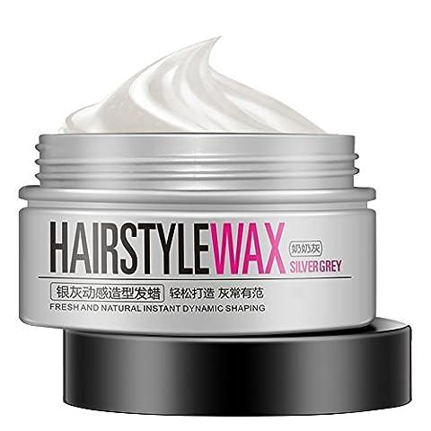 ROPALIA Unisex DIY Haar Farbe Wachs Schlamm Farbstoff Färbung Creme Temporäre Modellierung