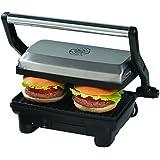 Ariete 1913 Slim Toast & Grill - Sandwichera eléctrico, 1000 W, apertura de 180º, para paninos