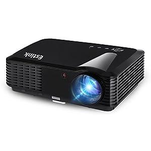 Vidéoprojecteur LCD Portable, Cinéma Projecteur HD 1280 * 800 Pixels 2500 lumens 720p/1080p Pour Théâtre Domestique ,25-200