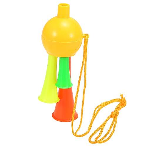 ans Trompete Fan Cheer Bugle Fußball Sport Spiel Spielzeug Horn zufällige Farbe ()