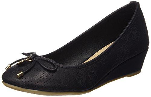 XTI Damen Zapatos De Tacón Stöckelschuh Schwarz