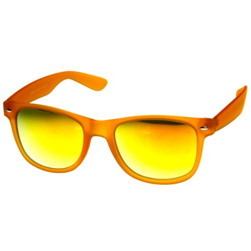 zerouv-color-frosted-rubber-finish-color-mirror-lens-horn-rimmed-sunglasses-orange