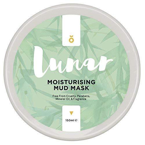 Feuchtigkeitsspendende Tonerde Maske, Gesichtsmaske von Lunar Glow. Mud Face Mask 150ml.