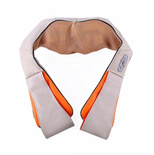 Nwn Shiatsu Massager, Nacken Schulter Massage Kneten Elektrisch mit Hitze Muskeln Schmerzlinderung Entspannen Sie Massagegeräte in Office & Home Car (Mit Hitze Massager Knie)