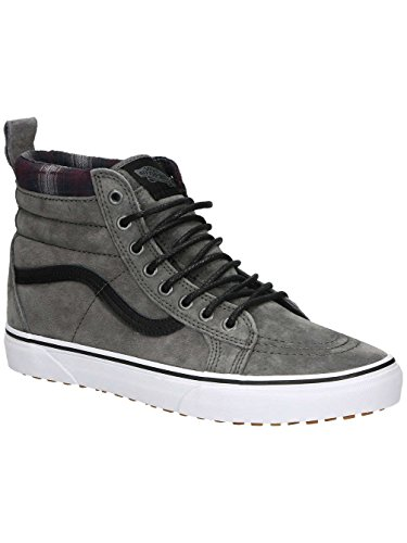 Vans Sk8-Hi MTE Pewter Plaid 41 (Schuhe Plaid-herren)