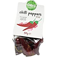 Serena Dried NATURAL Chili Peppers | No sweeteners | No artificial colours | No added sugar | No added SO2 | Vegan | 50g