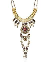 diannaojewelry exagerado adornos Retro Multi–capa larga Jersey cadena accesorios de ropa collar, a