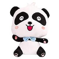 Kalaokei Stuffed Toy,Cartoon Couple Panda Stuffed Doll Toy Soft Cuddling Throw Pillow Birthday Gift